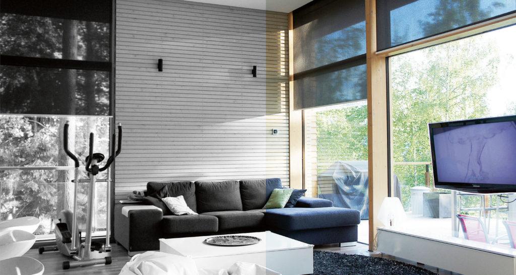 Energiatehokkaat aurinkosuojat ikkunoihin (Screenkaihdin)