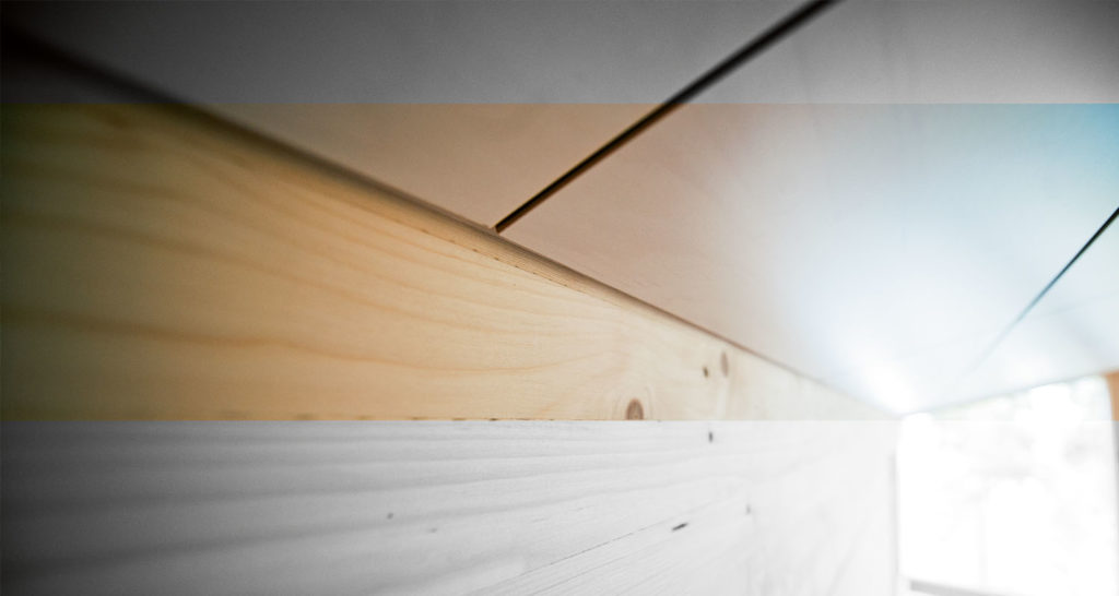 Listaton rakenne puurakentamisessa
