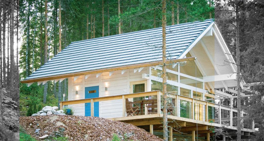 Sileäpintainen kattotiili