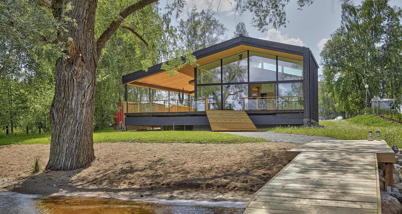 Ekopuutalo Villa Hopeapuu