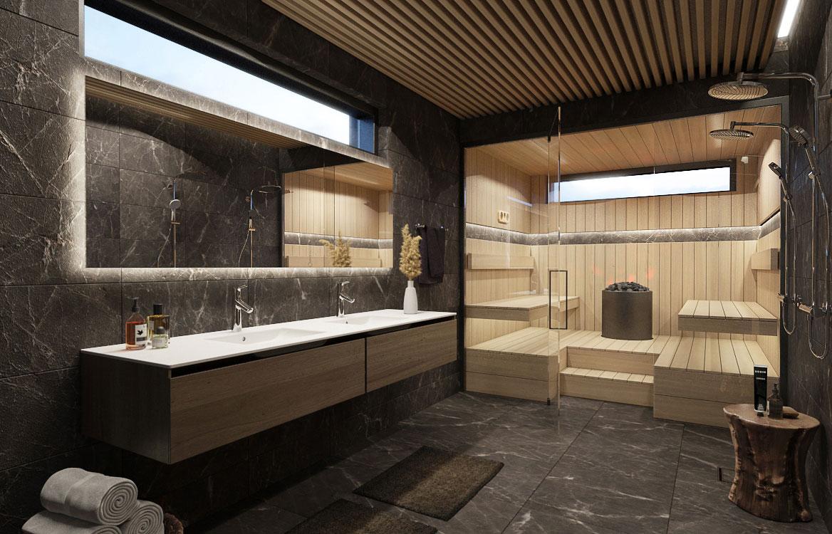 xVillas Westend saunaosasto