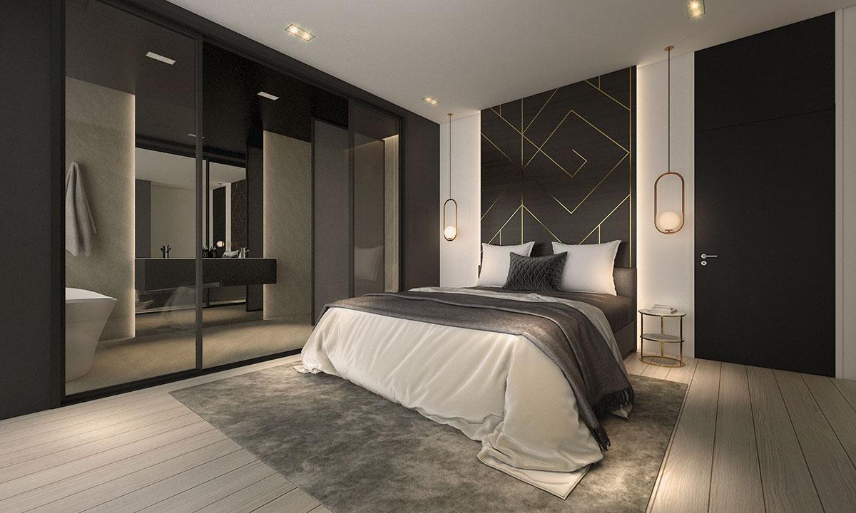 xVillas Westend makuuhuone